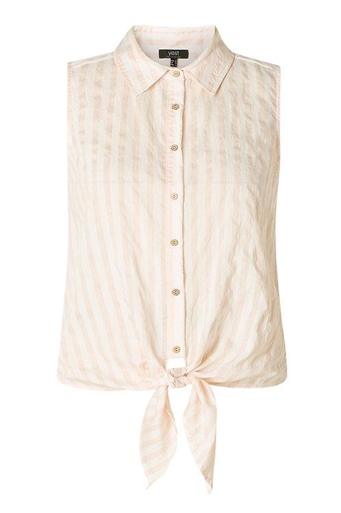Mouwloze blouse Jayne