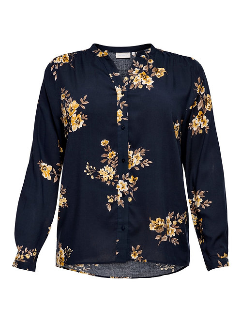 Top in Japanese flower print