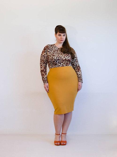 Bodysuit in luipaardprint