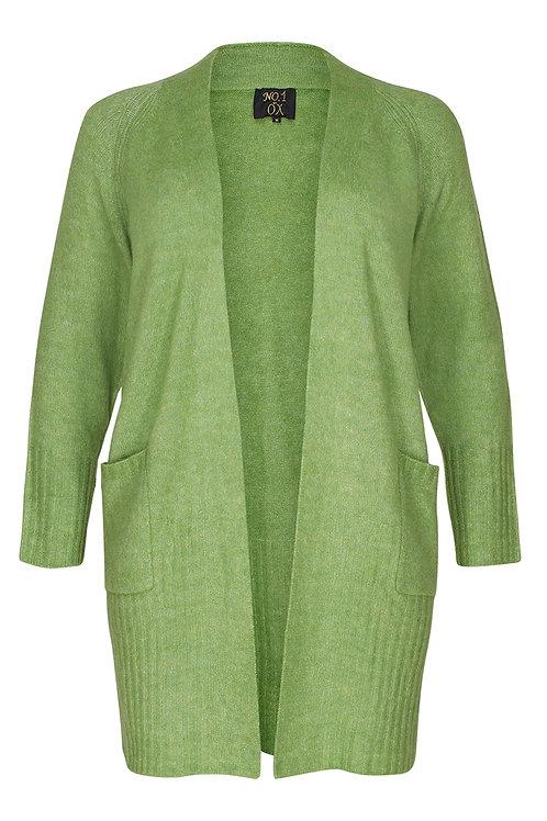 Groen vest met zakken