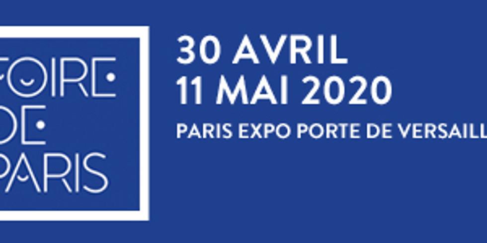 Foire de Paris 30 Avril / 11 Mai 2020