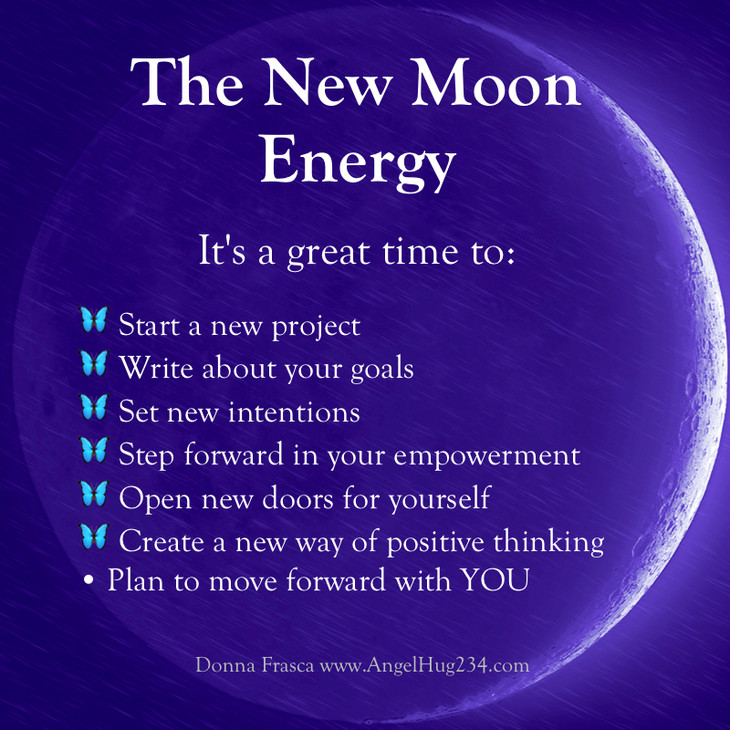What Should I Do During The New Moon?