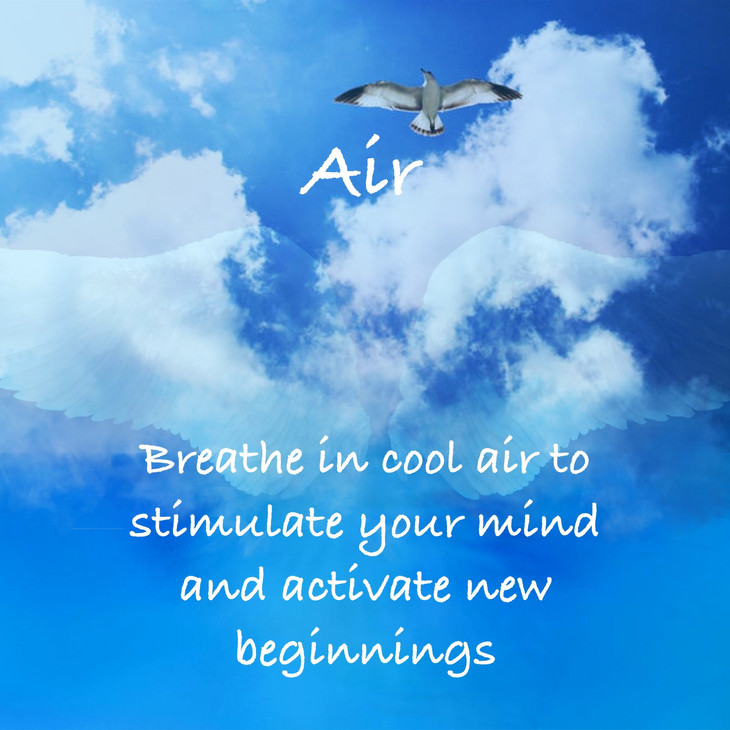 How Can The Element Of Air Help Me During Holiday Time?