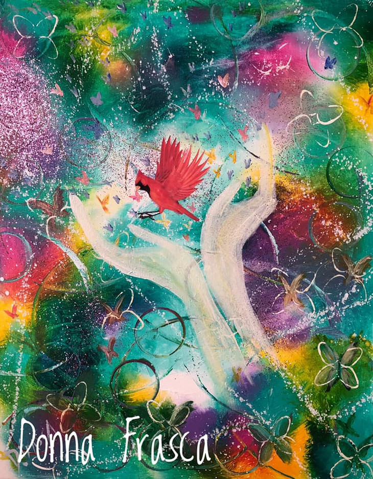 Channeled Paintings: When Spirit Shows You What To Paint