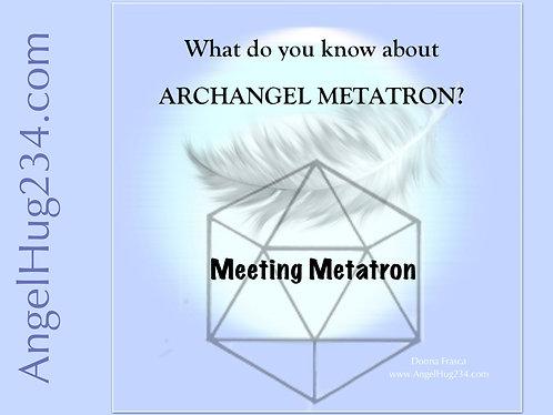 Meeting Metatron • Digital Download