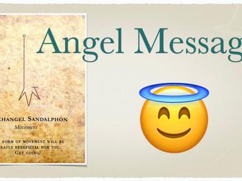 A Message From Archangel Sandalphon