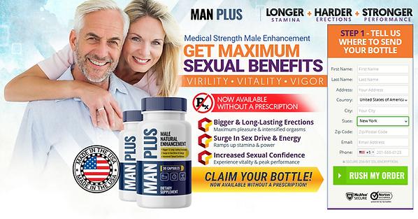 Man Plus Male Enhancement