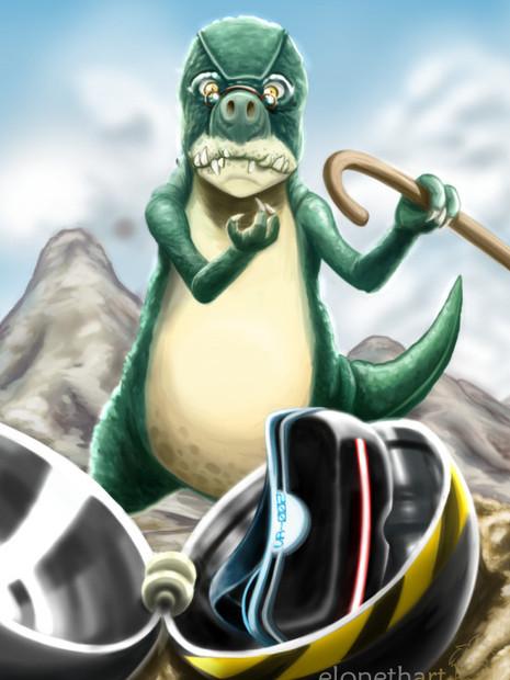Dino/Treasure combo