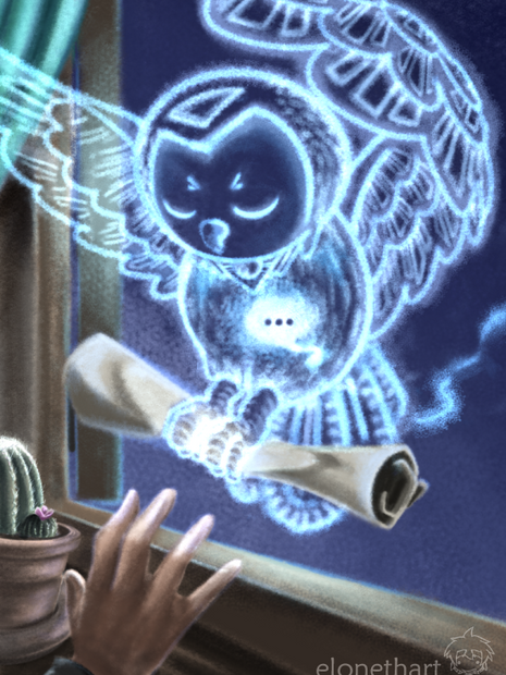 Messenger Owl