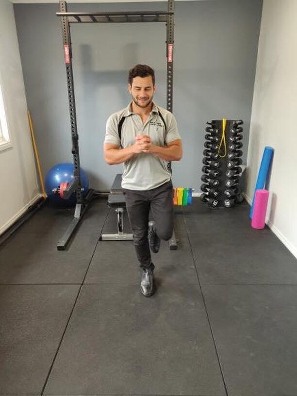 Ankle Balance Exercise 1
