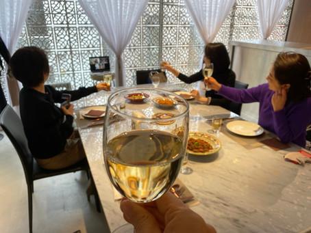 サロンで モロッコの晩餐