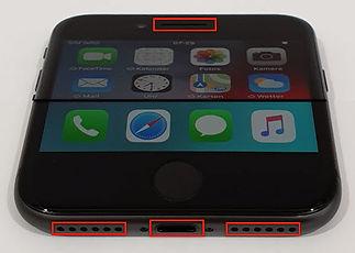 iphone-reinigung-ladebuchse-lautsprecher