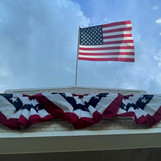 Flag & Bunting at 5617 Swiss Avenue