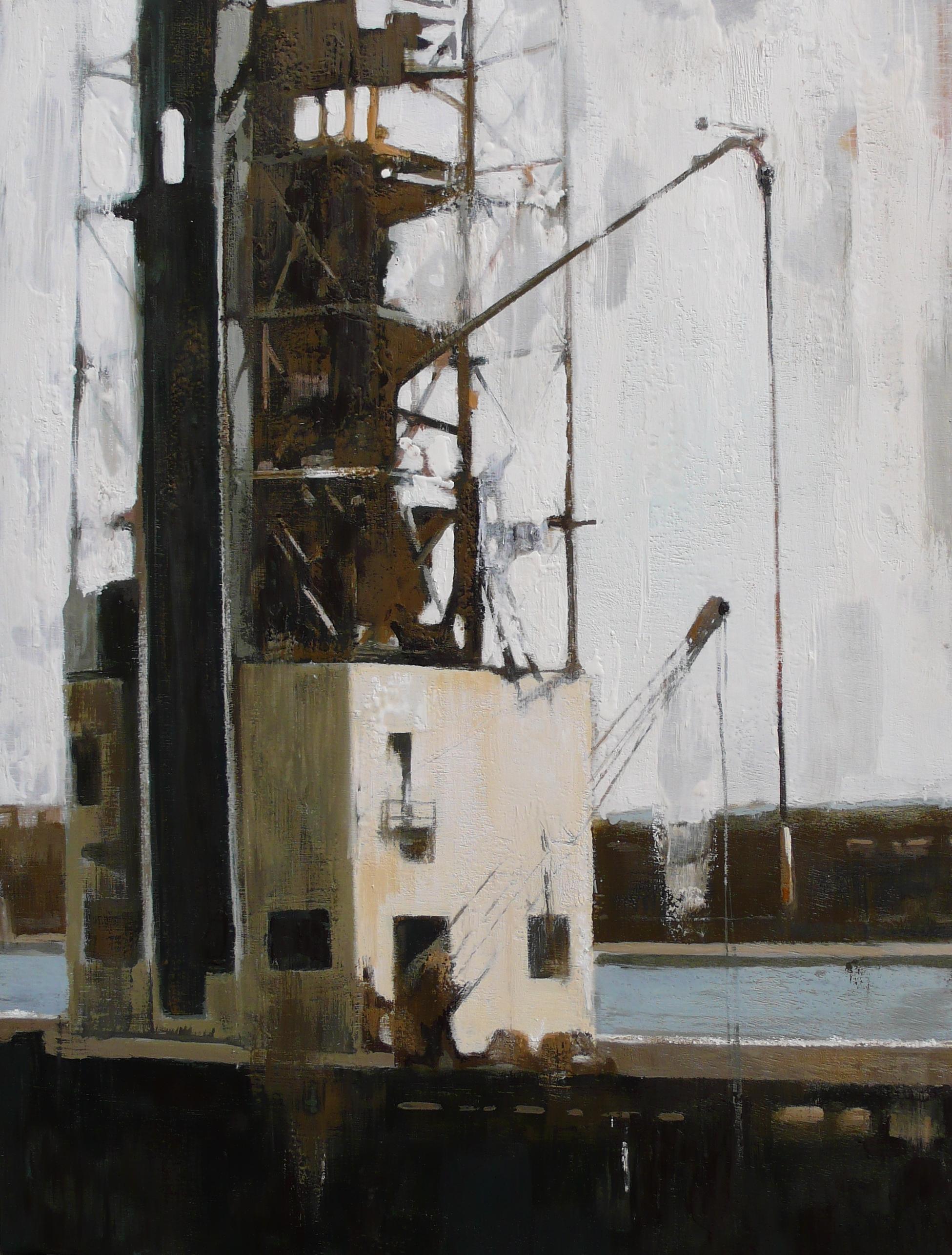 CLAE20140 Vestige du vieux-port 40 x 30