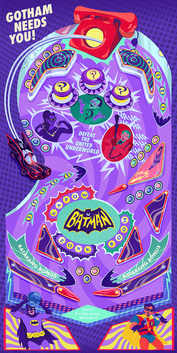 Batman Pinball