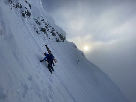 First Descent - Jiehkkevarri South Face