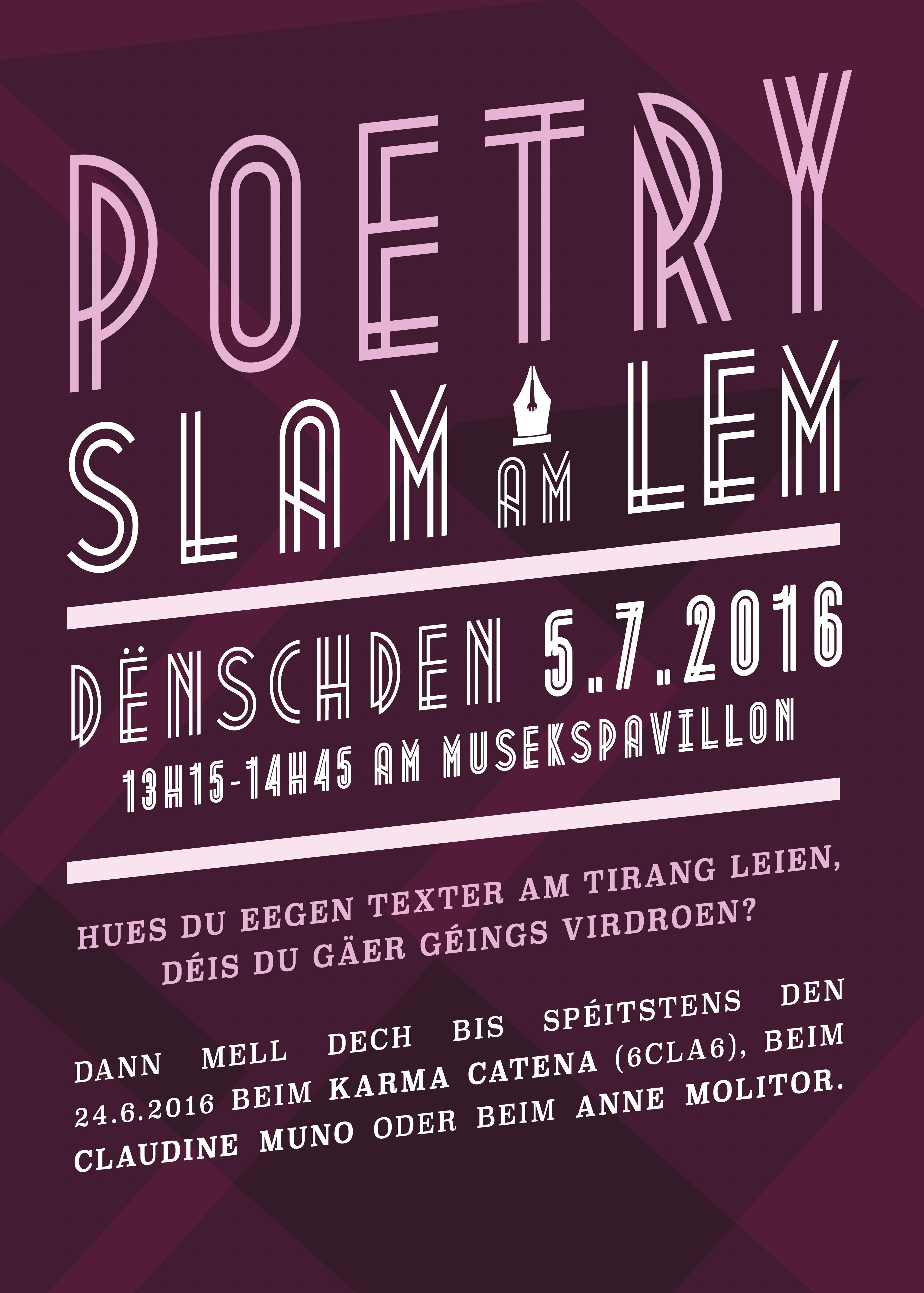 2016 poetry slam