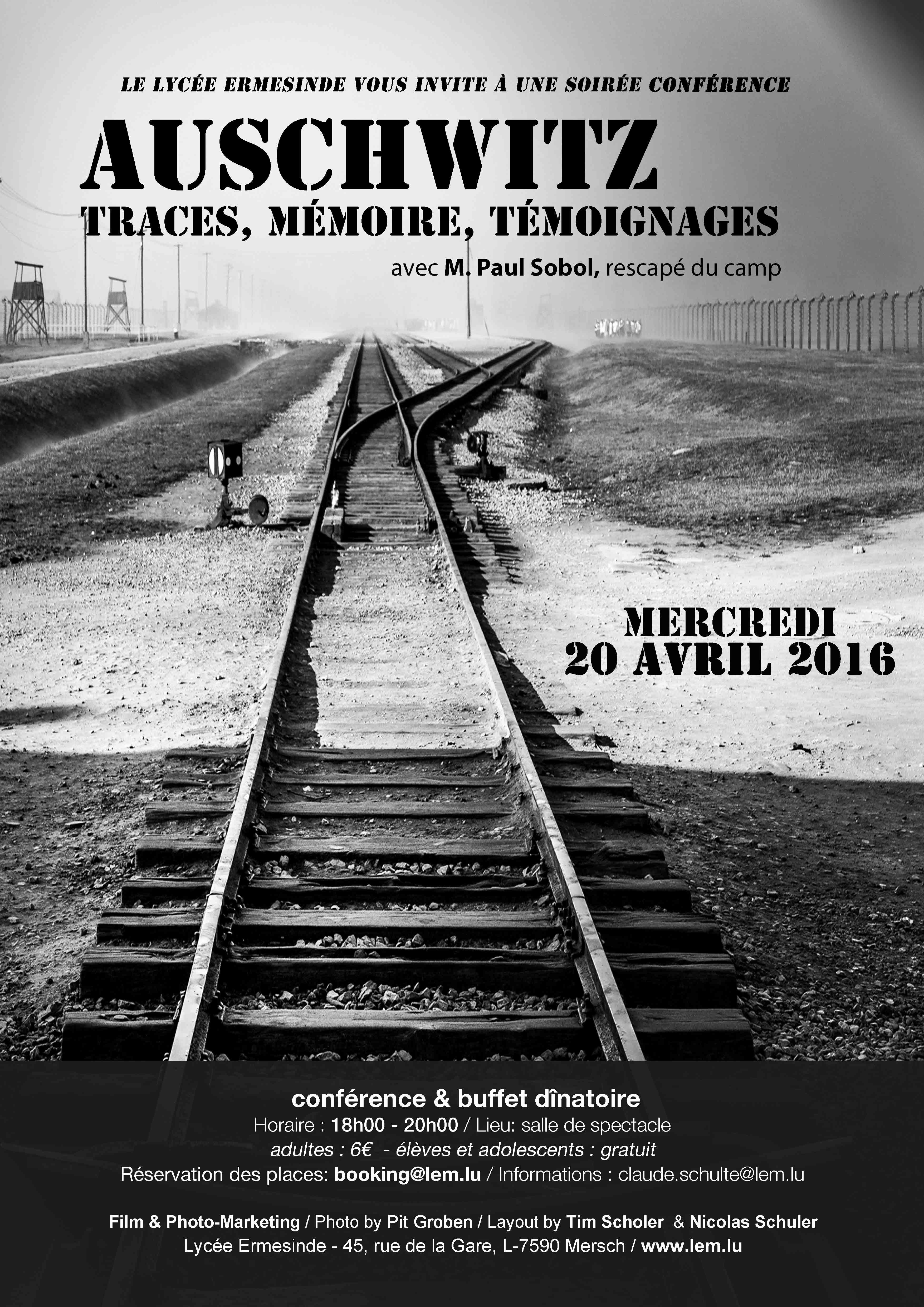 2016 conference Auschwitz