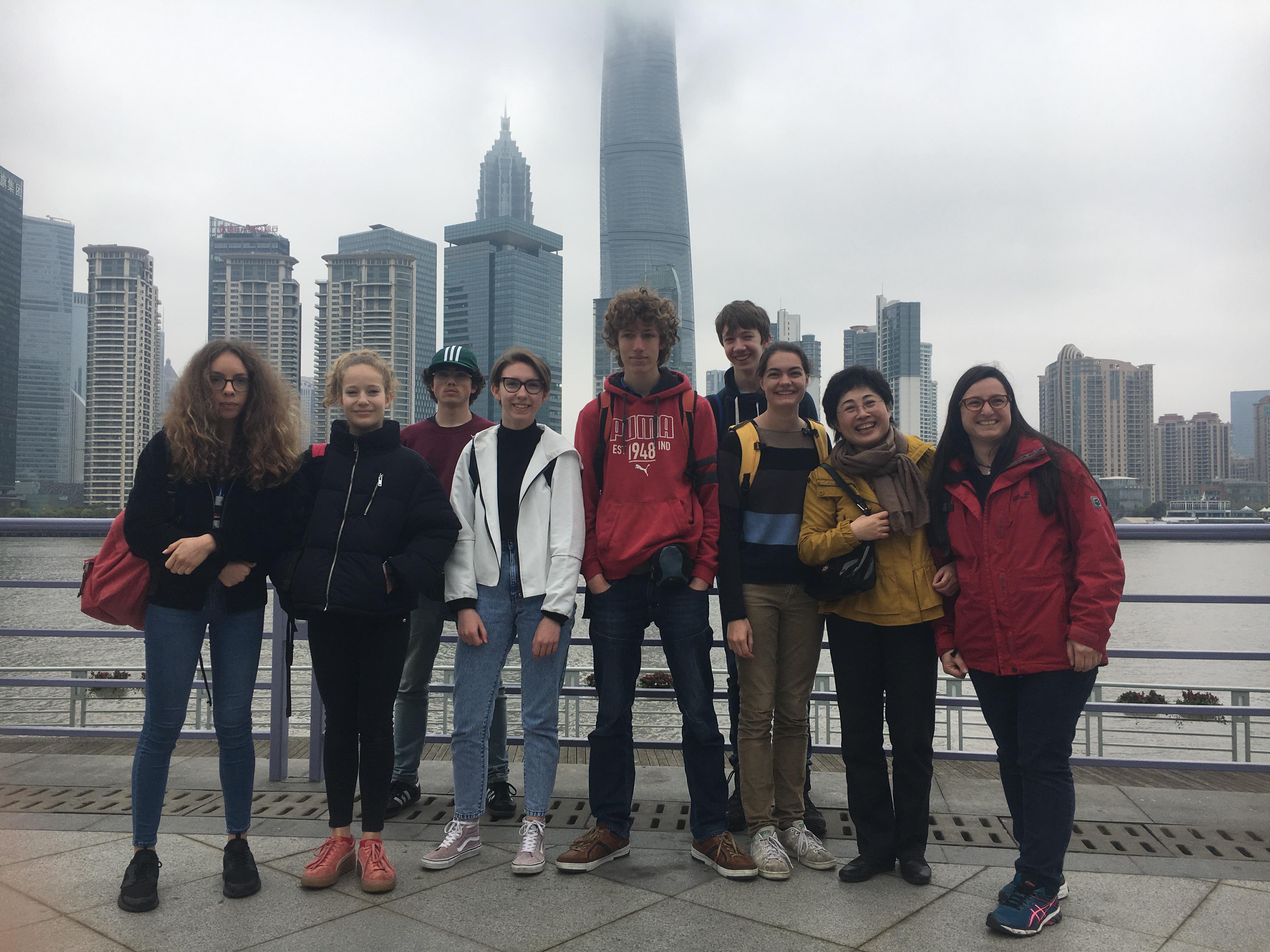 Voyage d'étude en Chine (2018)