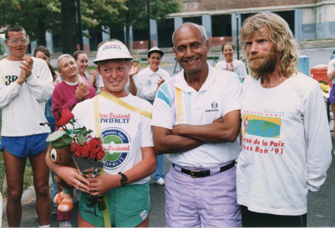 1,300-mile win with Sandy Barwick