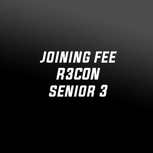 Joining Fee - R3CON S3