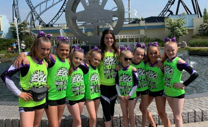 Some of our J3TS athletes at ECC2019 in Movie Park, Germany
