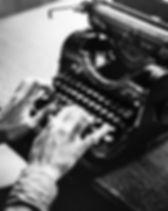 Schwarzweiss-Schreibmaschine