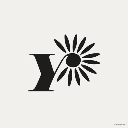 Paper Daisy Logo - Ecru
