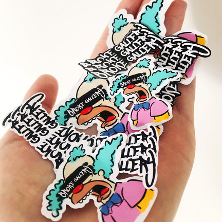 Promotional Stickers Mix