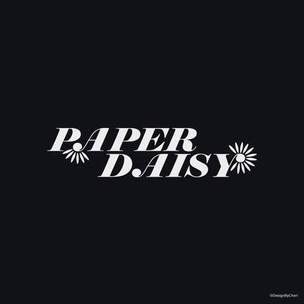 Paper Daisy Black Logo