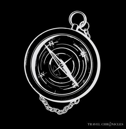 Compass Illustration - Black