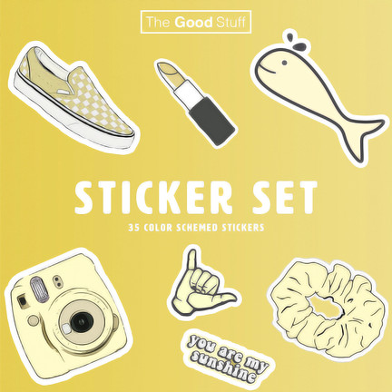 Sticker Set Box