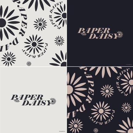 Paper Daisy Logo Mix