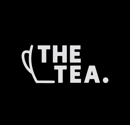 The Tea Logo White