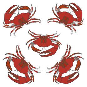 Crab Sticker Page