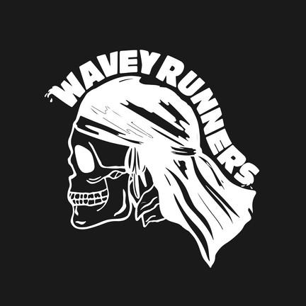 Skull Logo - Black / Off-White  - Hand Illustrated