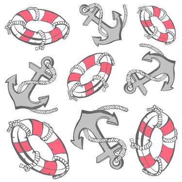 Ahoy! Sticker Page