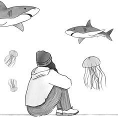 Aquarium - Sad Girl