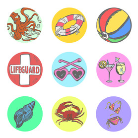 Circular Sticker Page 2