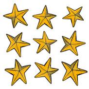 Starfish Sticker Page