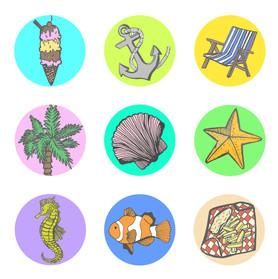 Circular Sticker Page 1