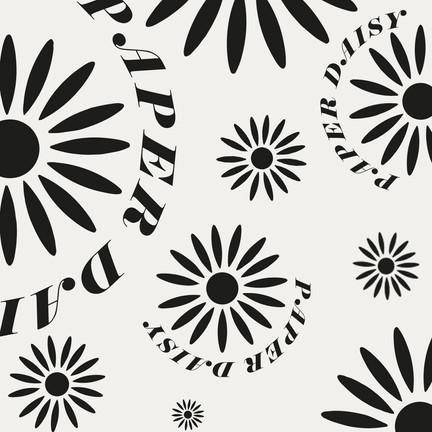 Paper Daisy Pattern - Ecru