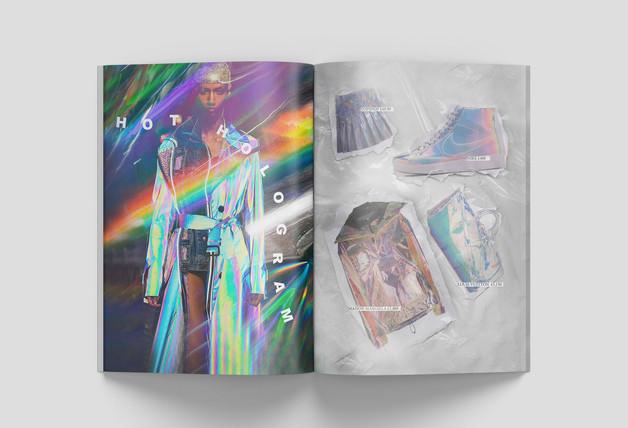 Hologram Clothing Spread