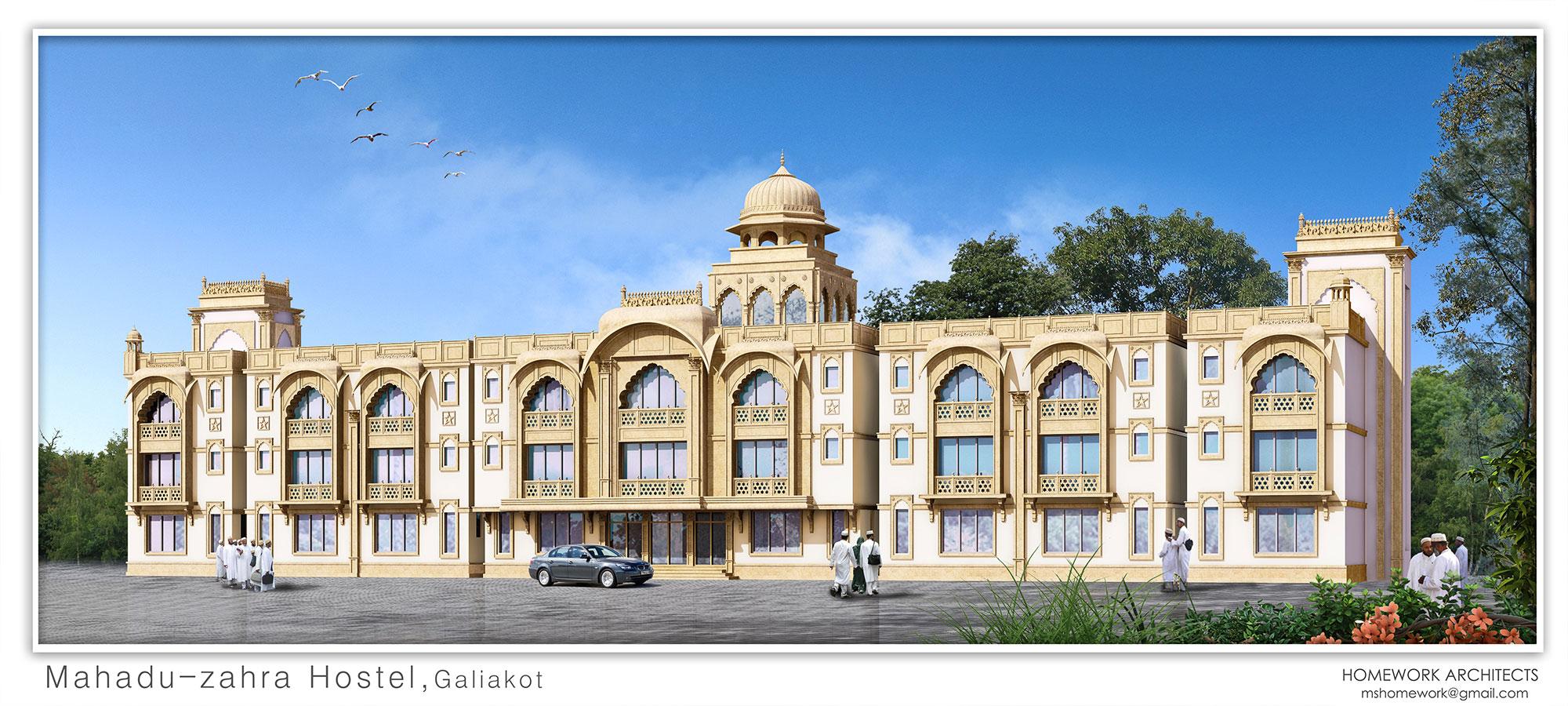 Mahadu-uz-Zahra Hostel,Galiakot