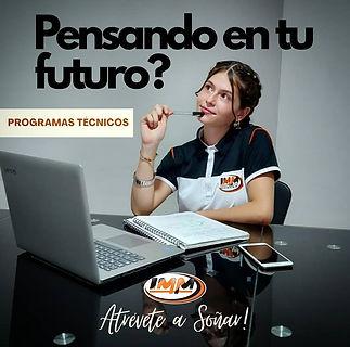 pensando en tu futuro estudia tecnicos.j