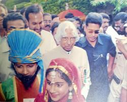 Dr. APJ Abdul Kalam visits the school