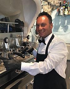 Il nostro Barman e Caffettiere Edoardo D'Avino
