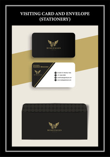 Envelope and  Bussines card