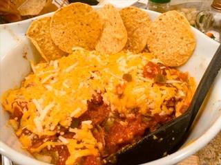Artichoke Taco Casserole