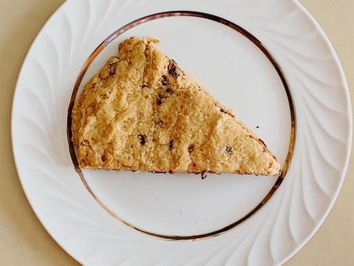 Vegan Whole Wheat Chocolate Chip Scones